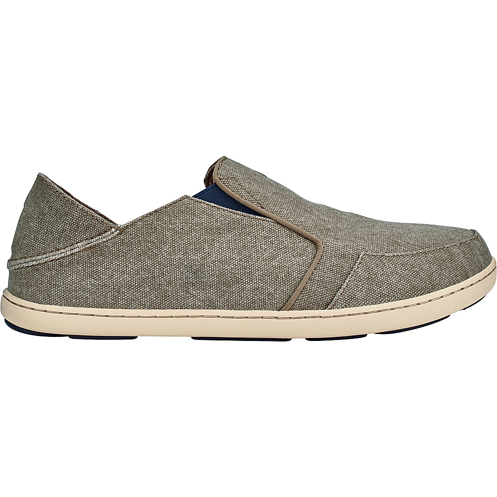 OluKai Mens Nohea Lole Slip-On 8 - Clay/Trench Blue - OluKai Mens Footwear - Apparel & Footwear, Men's Footwear