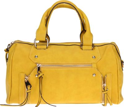 MoDa Rustic Satchel Yellow - MoDa Manmade Handbags