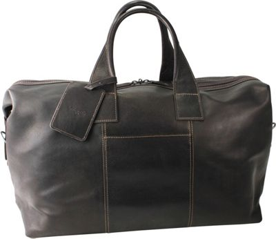 Kenneth Cole New York Business Single Compartment 20 inch Top Zip Duffel Brown - Kenneth Cole New York Business Travel Duffels