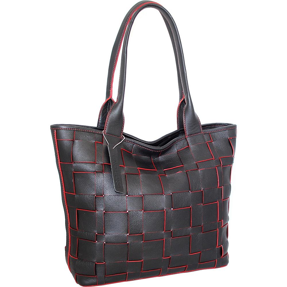 Nino Bossi Tyra Tote Black - Nino Bossi Leather Handbags - Handbags, Leather Handbags