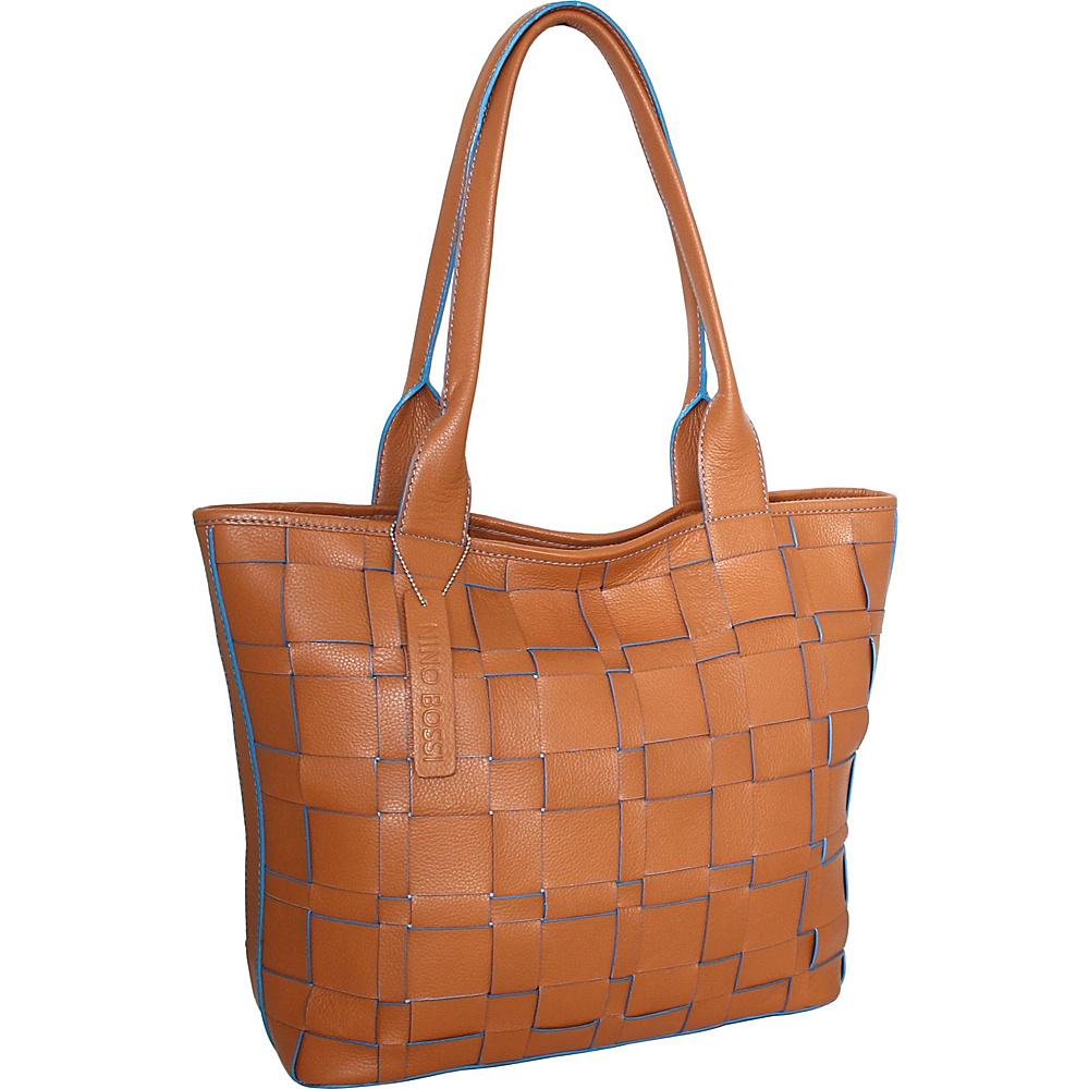 Nino Bossi Tyra Tote Cognac - Nino Bossi Leather Handbags - Handbags, Leather Handbags