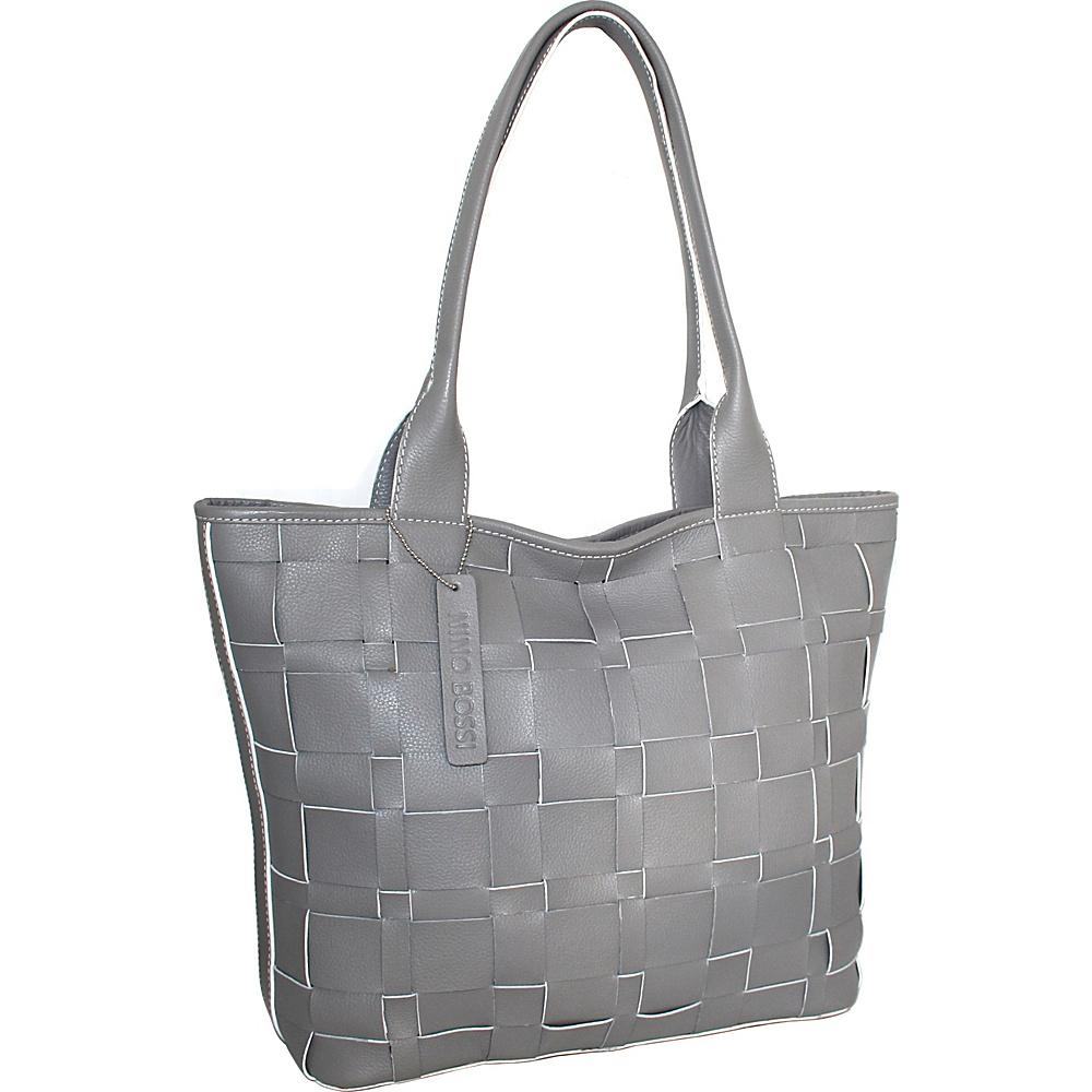 Nino Bossi Tyra Tote Stone - Nino Bossi Leather Handbags - Handbags, Leather Handbags
