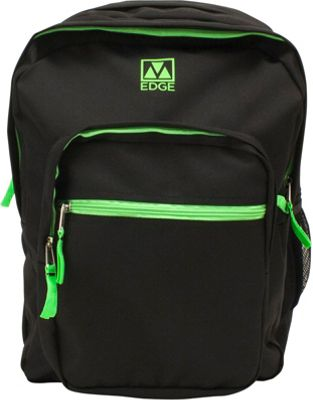 M-Edge Street Backpack with Battery Black/Lime - M-Edge Business & Laptop Backpacks