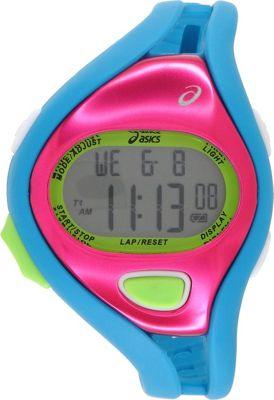 Asics Fun Runners Watch Teal/Pink - Asics Wearable Techno...