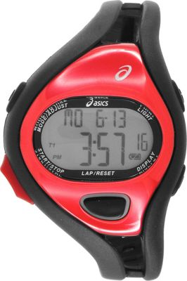 Asics Fun Runners Watch Black/Red - Asics Wearable Technology