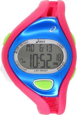Asics Fun Runners Watch Pink/Blue - Asics Wearable Techno...
