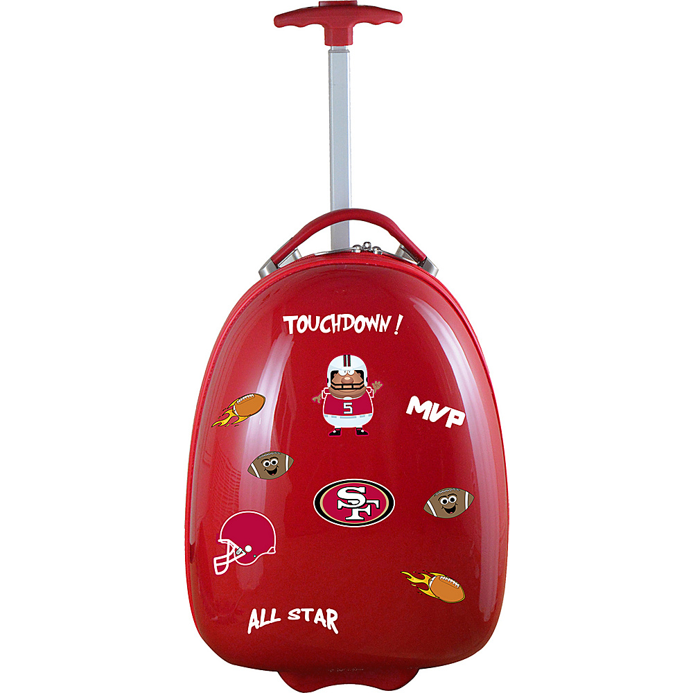 MOJO Denco Kids Luggage Pod San Francisco 49ers - MOJO Denco Hardside Carry-On - Luggage, Hardside Carry-On