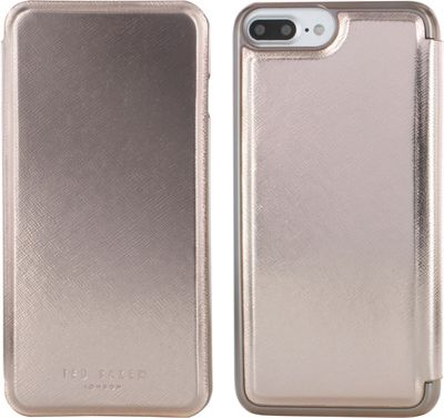 Ted Baker iPhone 6 & 7 Plus Slim Mirror Case Kadia Rose Gold - Ted Baker Electronic Cases