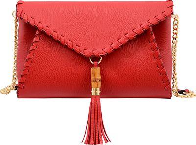 Mellow World Marie Clutch Red - Mellow World Manmade Handbags