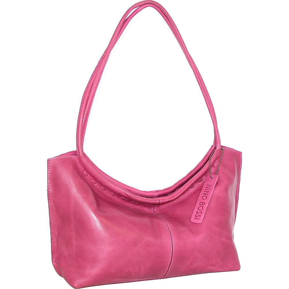 Nino Bossi Summer Shoulder Bag Fuchsia - Nino Bossi Leather Handbags - Handbags, Leather Handbags