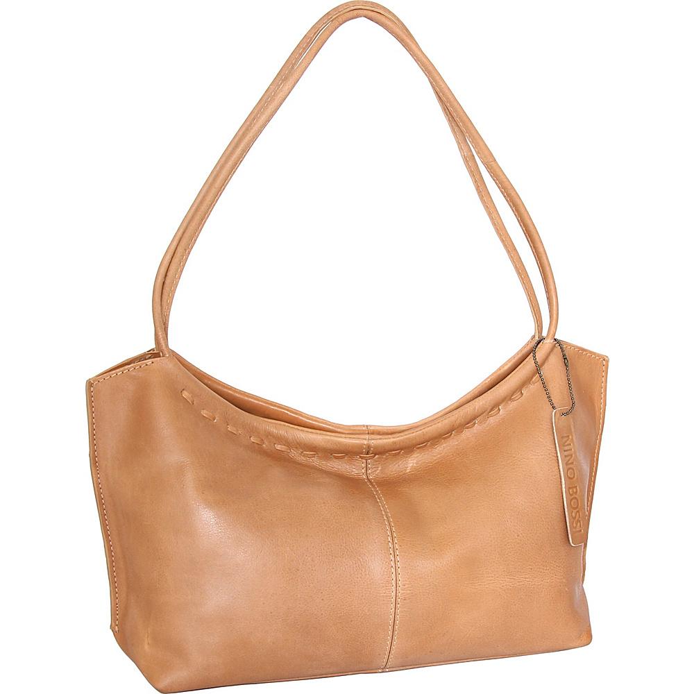 Nino Bossi Summer Shoulder Bag Nut - Nino Bossi Leather Handbags - Handbags, Leather Handbags