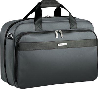 "Briggs & Riley Transcend VX Clamshell 18"" Cabin Bag Luggage Tote Slate - Briggs & Riley Luggage Totes and Satchels"