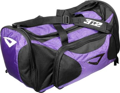 3N2 Grab Bag Sports Duffel Purple/Black - 3N2 Gym Duffels