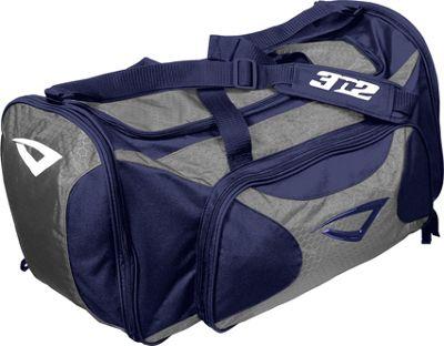 3N2 Grab Bag Sports Duffel Navy/Grey - 3N2 Gym Duffels