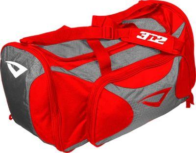 3N2 Grab Bag Sports Duffel Red/Grey - 3N2 Gym Duffels