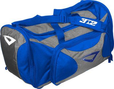 3N2 Grab Bag Sports Duffel Royal/Grey - 3N2 Gym Duffels