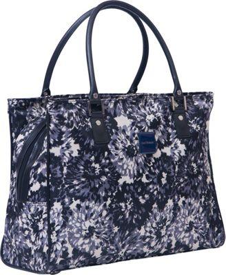 Isaac Mizrahi Boldon DLX Shopper Tote Black/White - Isaac Mizrahi Luggage Totes and Satchels