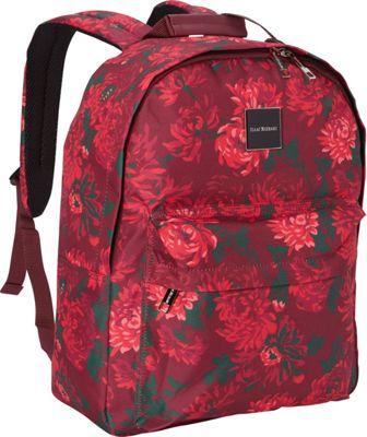 Isaac Mizrahi Irwin 2 Classic Laptop Backpack Berry - Isaac Mizrahi Laptop Backpacks