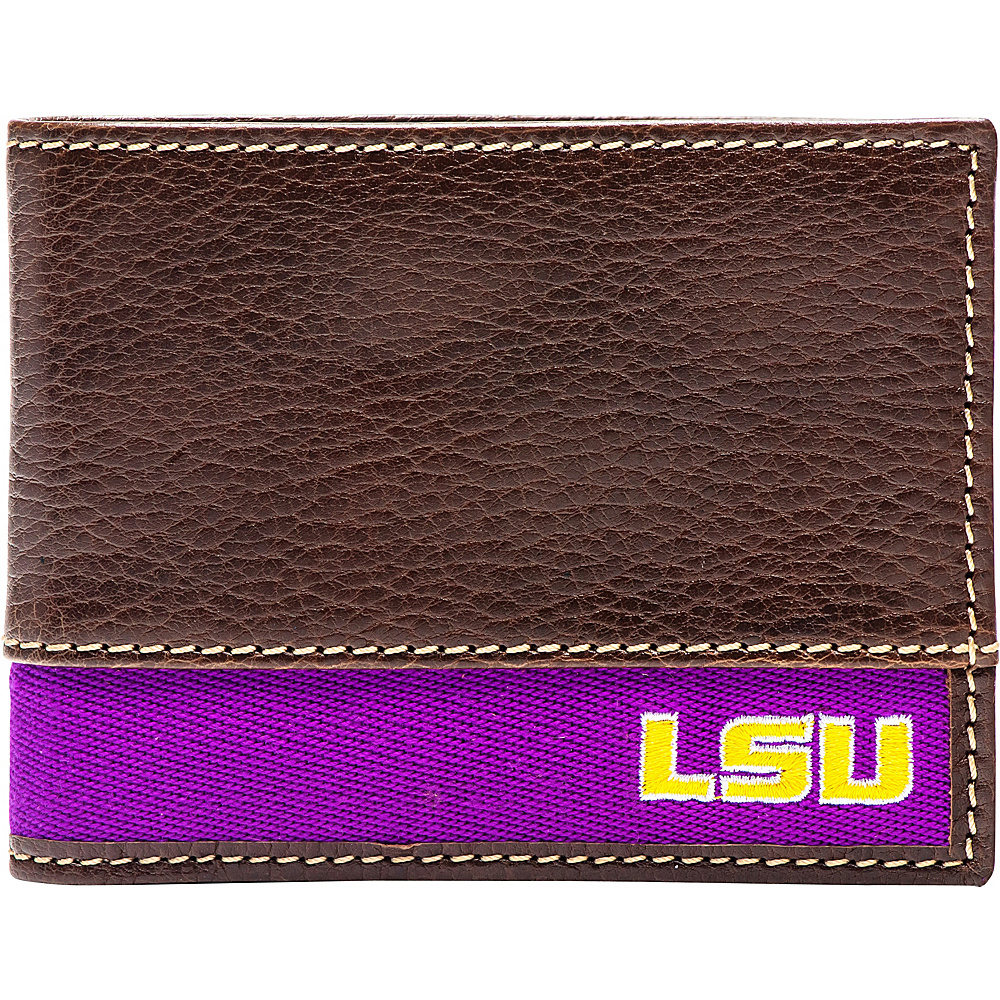 Jack Mason League NCAA Alumni Slim Bifold Wallet LSU - Jack Mason League Mens Wallets - Work Bags & Briefcases, Men's Wallets