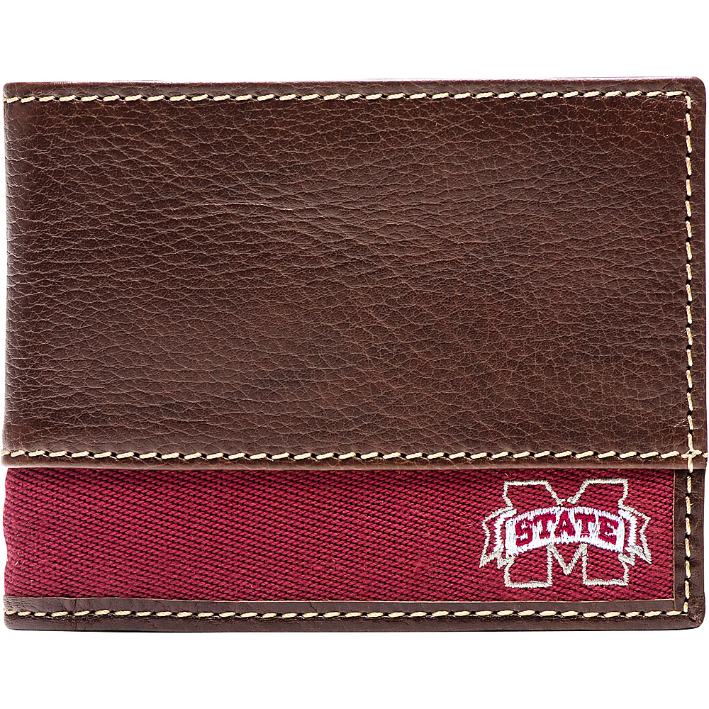 Jack Mason League NCAA Alumni Slim Bifold Wallet Mississippi State - Jack Mason League Mens Wallets - Work Bags & Briefcases, Men's Wallets