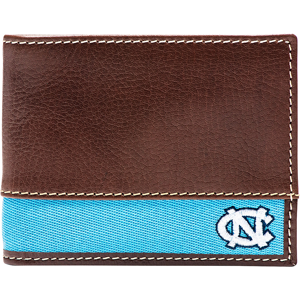 Jack Mason League NCAA Alumni Slim Bifold Wallet North Carolina - Jack Mason League Mens Wallets - Work Bags & Briefcases, Men's Wallets
