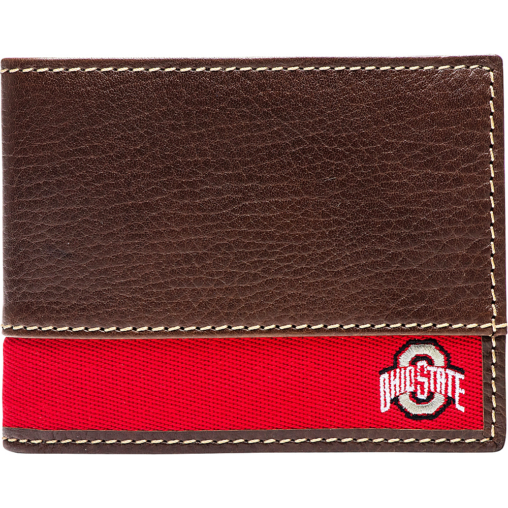 Jack Mason League NCAA Alumni Slim Bifold Wallet Ohio State - Jack Mason League Mens Wallets - Work Bags & Briefcases, Men's Wallets