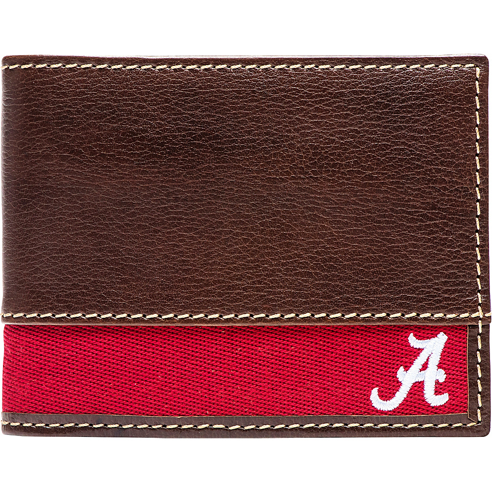 Jack Mason League NCAA Alumni Slim Bifold Wallet Alabama - Jack Mason League Mens Wallets - Work Bags & Briefcases, Men's Wallets