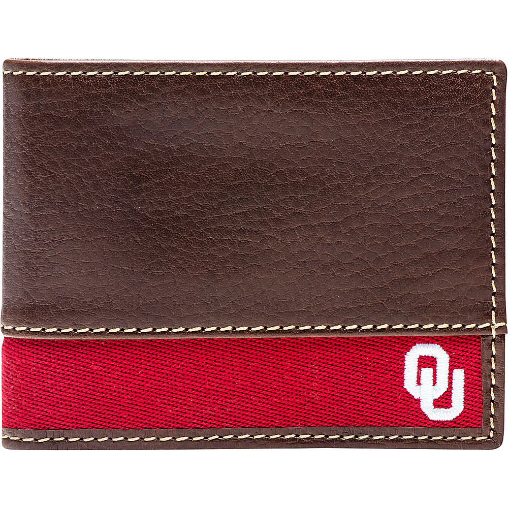 Jack Mason League NCAA Alumni Slim Bifold Wallet Oklahoma - Jack Mason League Mens Wallets - Work Bags & Briefcases, Men's Wallets