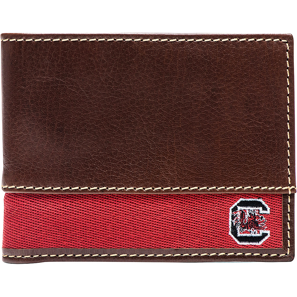 Jack Mason League NCAA Alumni Slim Bifold Wallet South Carolina - Jack Mason League Mens Wallets - Work Bags & Briefcases, Men's Wallets