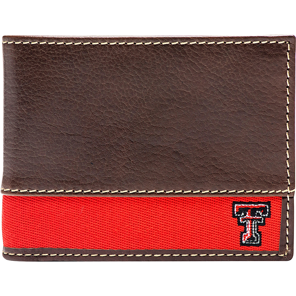 Jack Mason League NCAA Alumni Slim Bifold Wallet Texas Tech - Jack Mason League Mens Wallets - Work Bags & Briefcases, Men's Wallets
