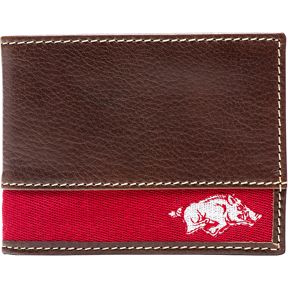 Jack Mason League NCAA Alumni Slim Bifold Wallet Arkansas - Jack Mason League Mens Wallets - Work Bags & Briefcases, Men's Wallets