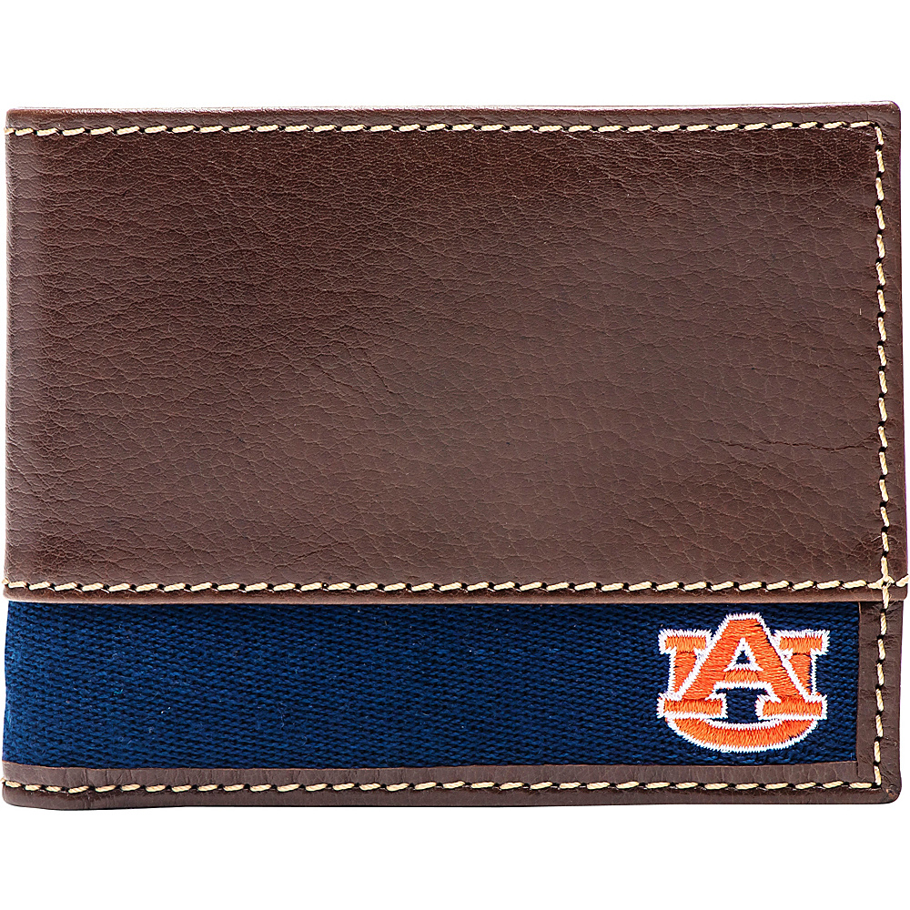 Jack Mason League NCAA Alumni Slim Bifold Wallet Auburn - Jack Mason League Mens Wallets - Work Bags & Briefcases, Men's Wallets