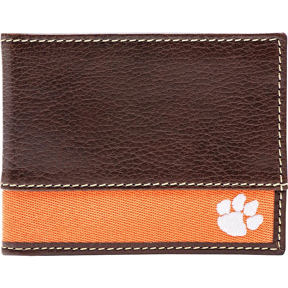 Jack Mason League NCAA Alumni Slim Bifold Wallet Clemson - Jack Mason League Mens Wallets - Work Bags & Briefcases, Men's Wallets