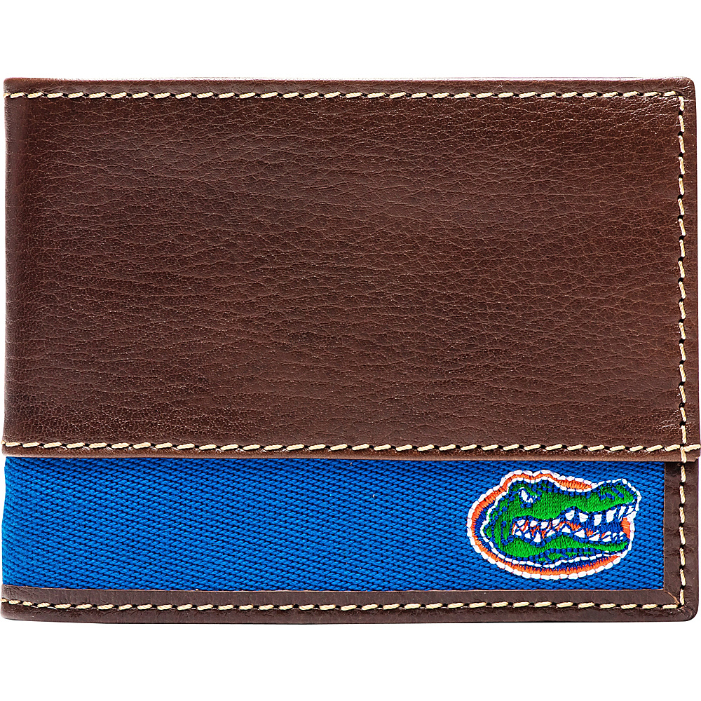 Jack Mason League NCAA Alumni Slim Bifold Wallet Florida - Jack Mason League Mens Wallets - Work Bags & Briefcases, Men's Wallets
