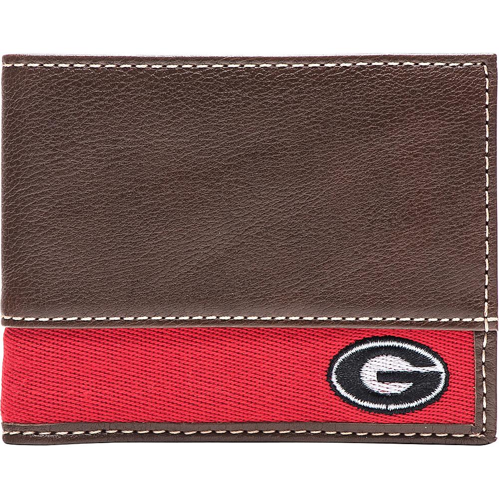 Jack Mason League NCAA Alumni Slim Bifold Wallet Georgia - Jack Mason League Mens Wallets - Work Bags & Briefcases, Men's Wallets