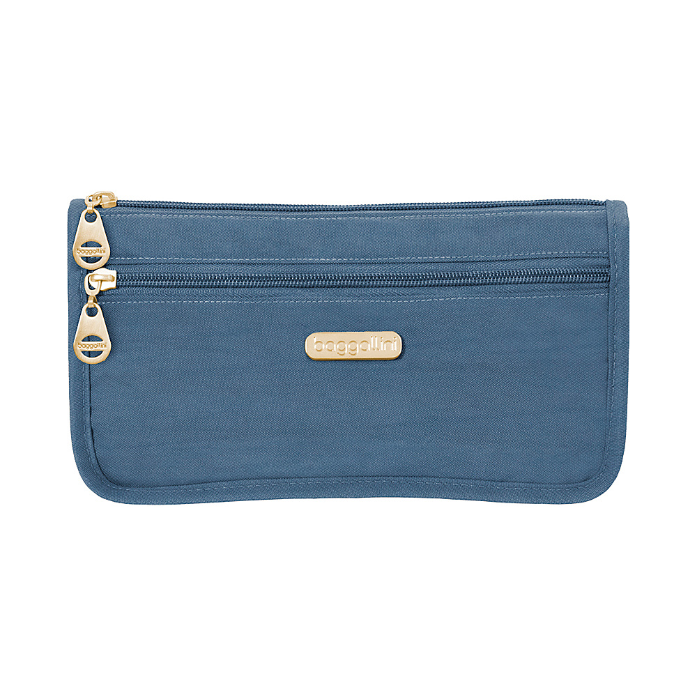 baggallini Fiji Large Wedge Case - Retired Colors Slate Blue - baggallini Womens SLG Other - Women's SLG, Women's SLG Other