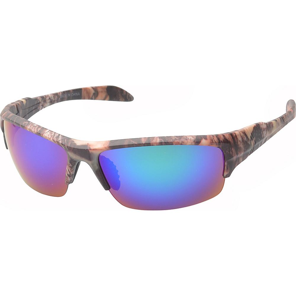 SW Global Danville Half Jacket Fashion Sunglasses Brown - SW Global Eyewear - Fashion Accessories, Eyewear