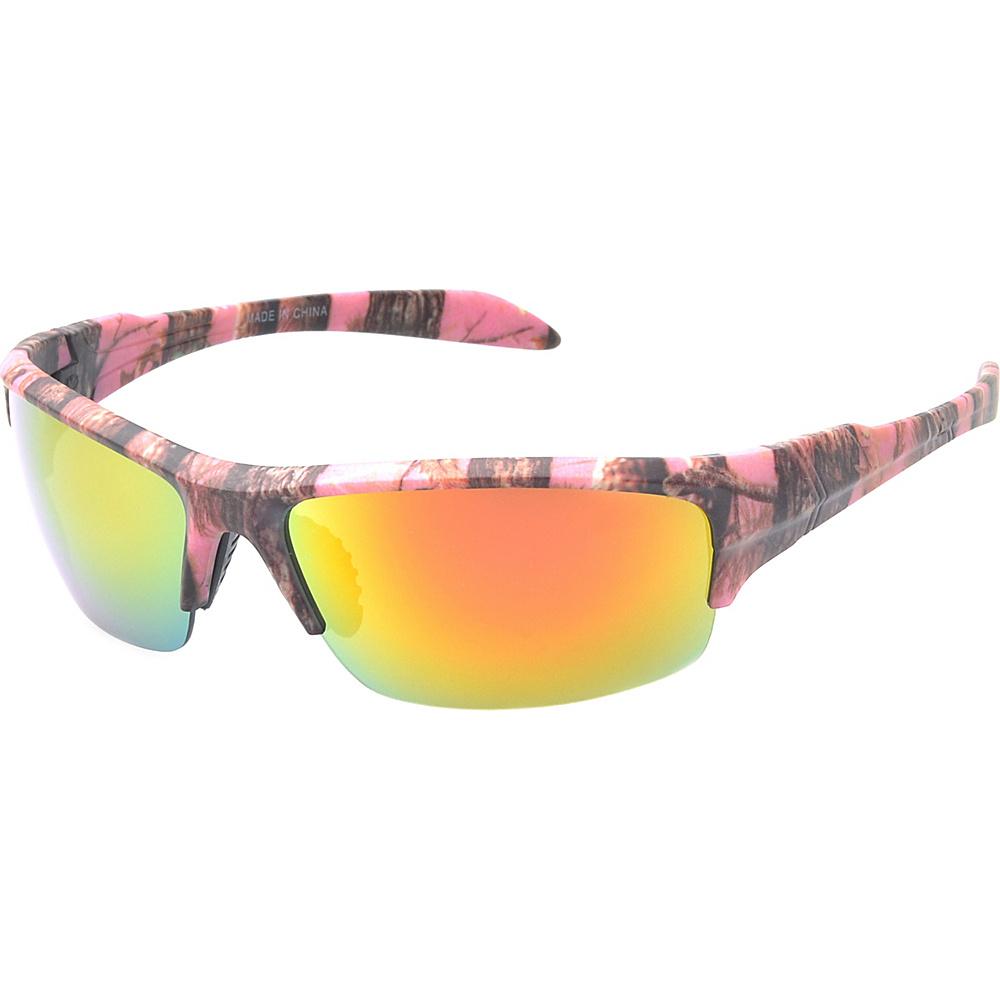 SW Global Danville Half Jacket Fashion Sunglasses Pink - SW Global Eyewear - Fashion Accessories, Eyewear