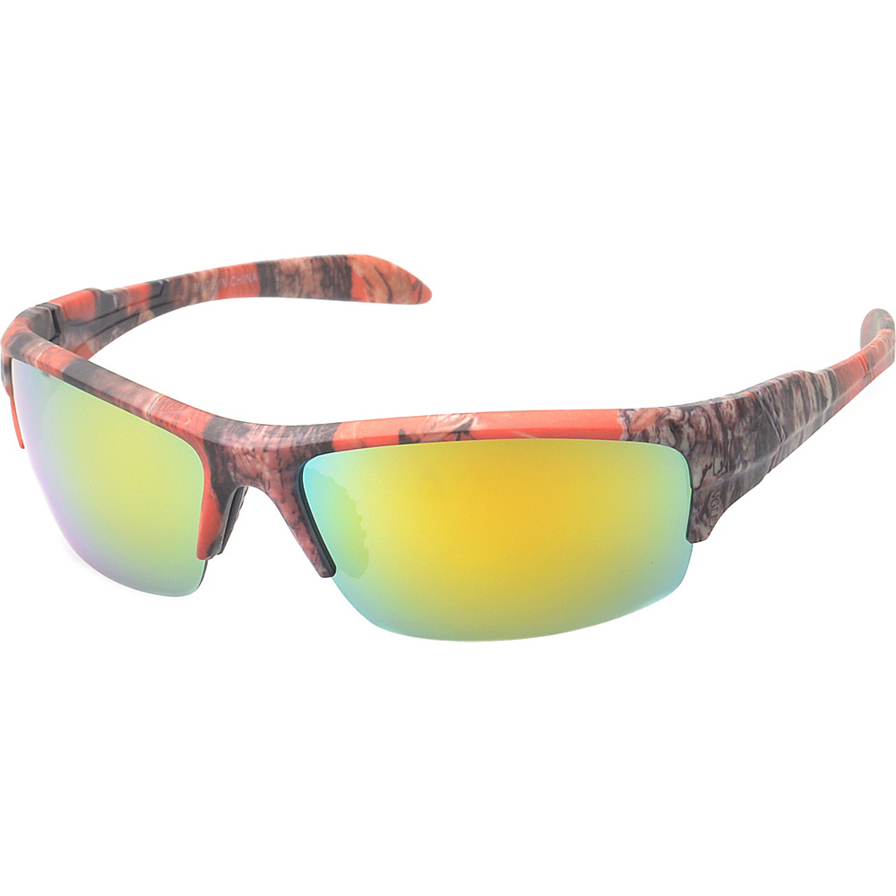 SW Global Danville Half Jacket Fashion Sunglasses Red - SW Global Eyewear - Fashion Accessories, Eyewear