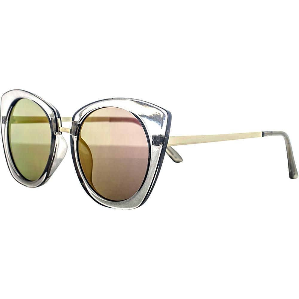 SW Global Classic Double Bridge Aviator UV400 Sunglasses Purple Yellow - SW Global Eyewear - Fashion Accessories, Eyewear