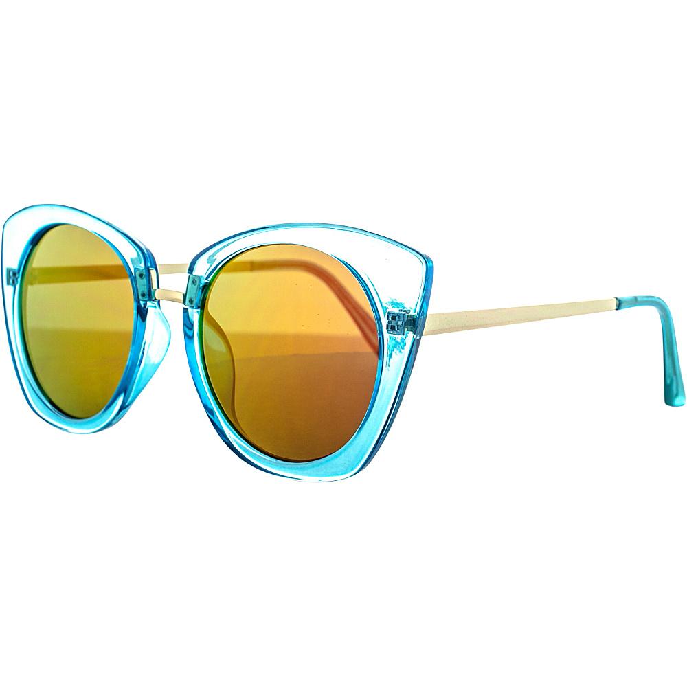 SW Global Classic Double Bridge Aviator UV400 Sunglasses Yellow Red - SW Global Eyewear - Fashion Accessories, Eyewear