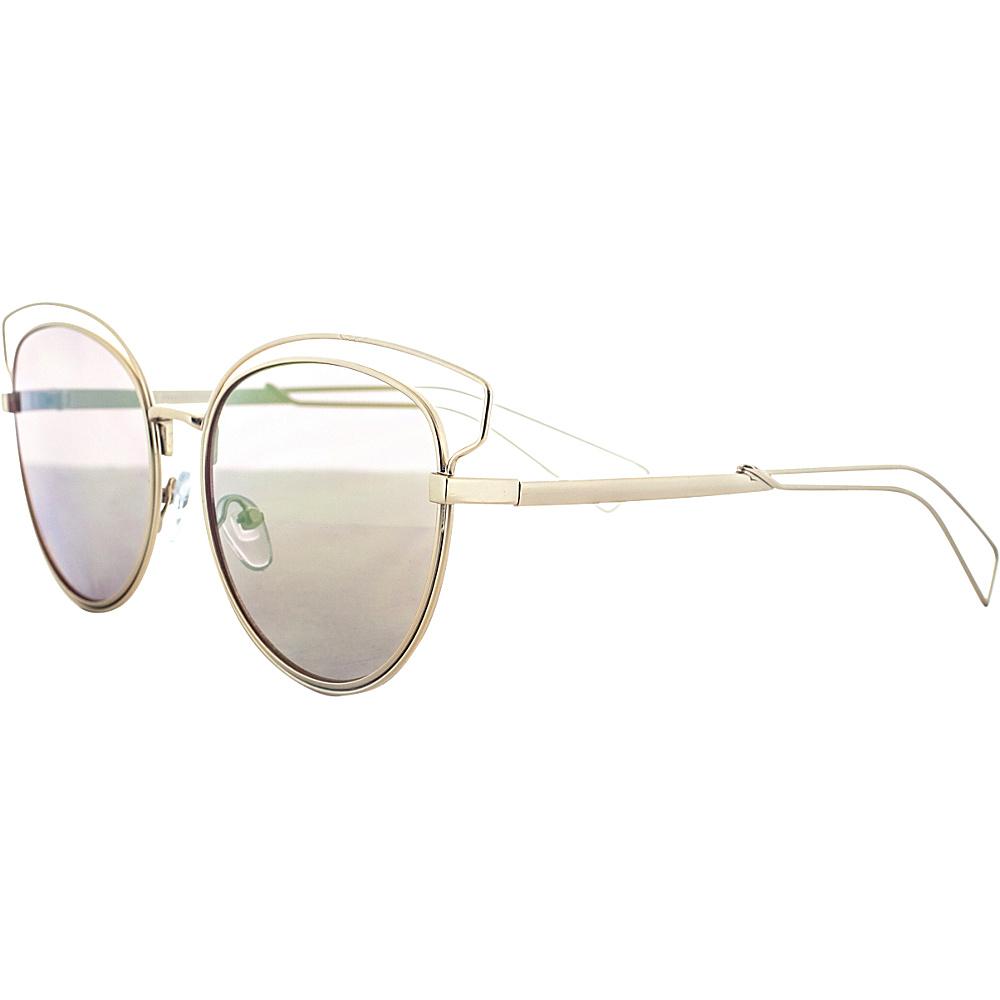 SW Global Double Bridge Round Frame Aviator UV400 Sunglasses Yellow Green - SW Global Eyewear - Fashion Accessories, Eyewear