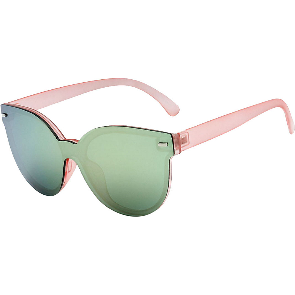 SW Global High Fashion Horn Rimmed Frameless Sunglasses Model:2 Pink - SW Global Eyewear - Fashion Accessories, Eyewear