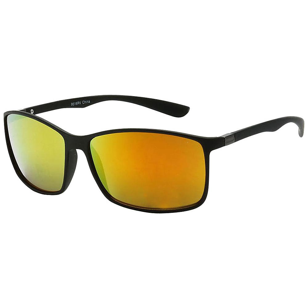 SW Global True Sight Ultra Light Reflective Lens Sport Sunglasses+G741 Orange - SW Global Eyewear - Fashion Accessories, Eyewear