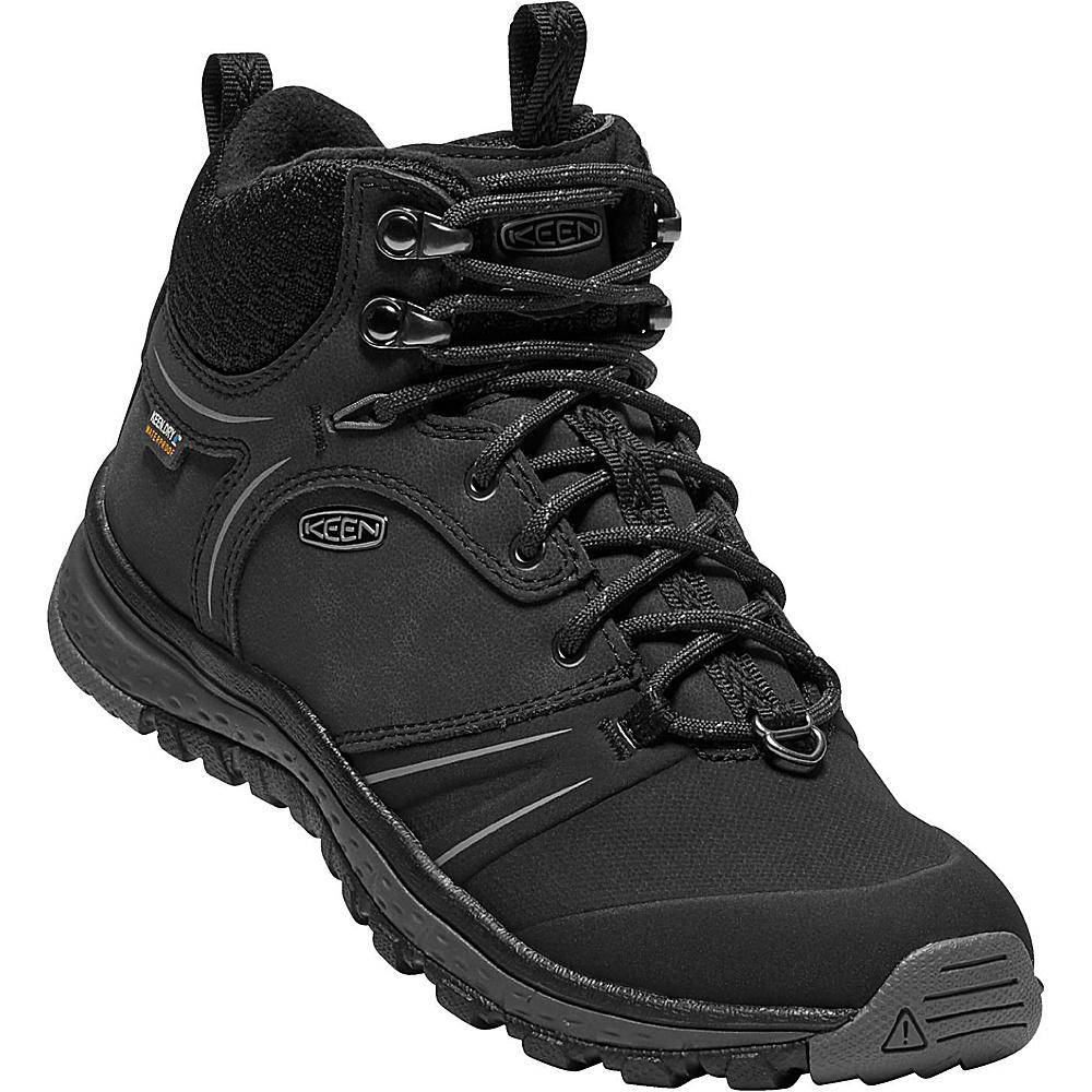 KEEN Womens Terradora Wintershell Boot 11 - Black/Magnet - KEEN Womens Footwear - Apparel & Footwear, Women's Footwear