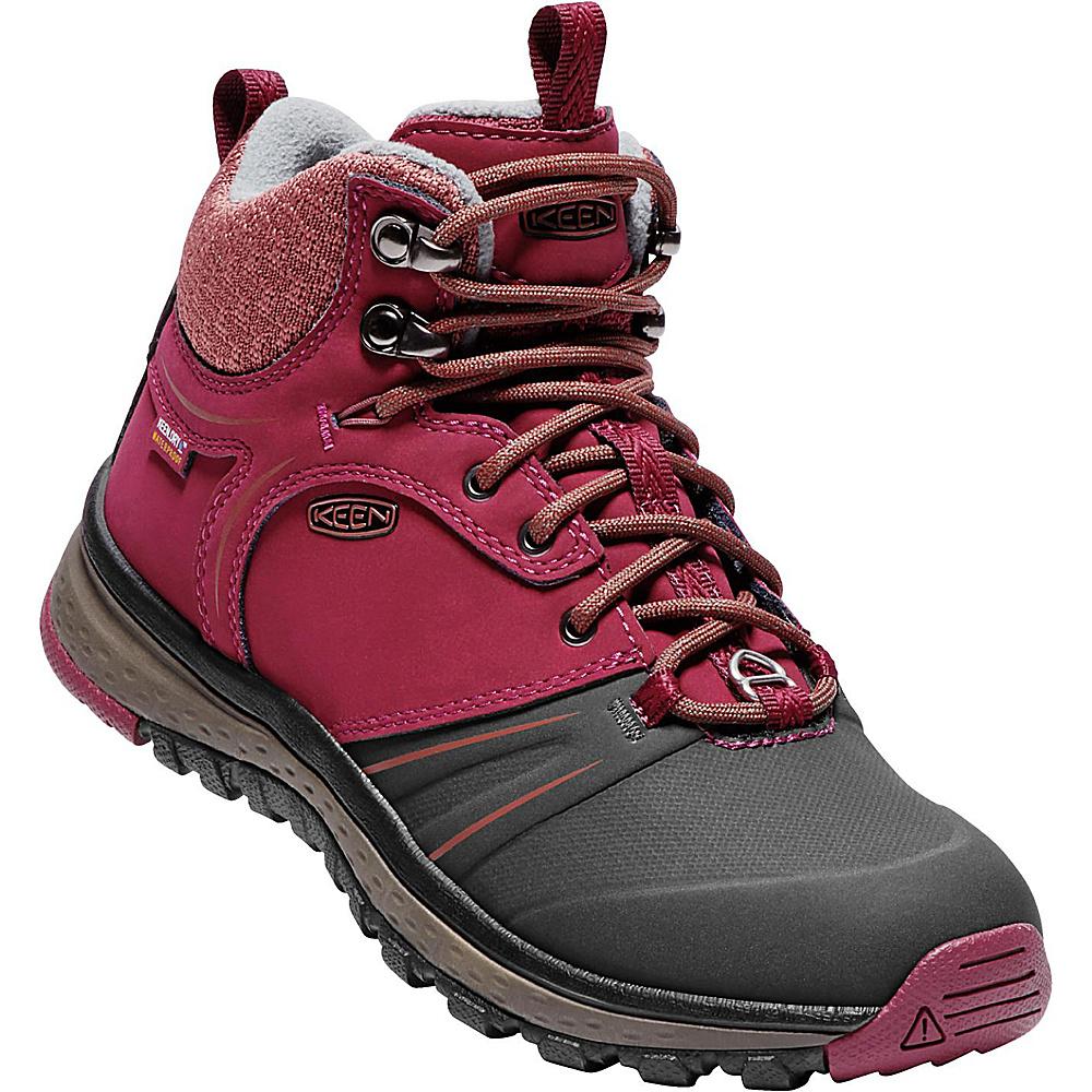 KEEN Womens Terradora Wintershell Boot 8.5 - Rhododendron/Marsala - KEEN Womens Footwear - Apparel & Footwear, Women's Footwear