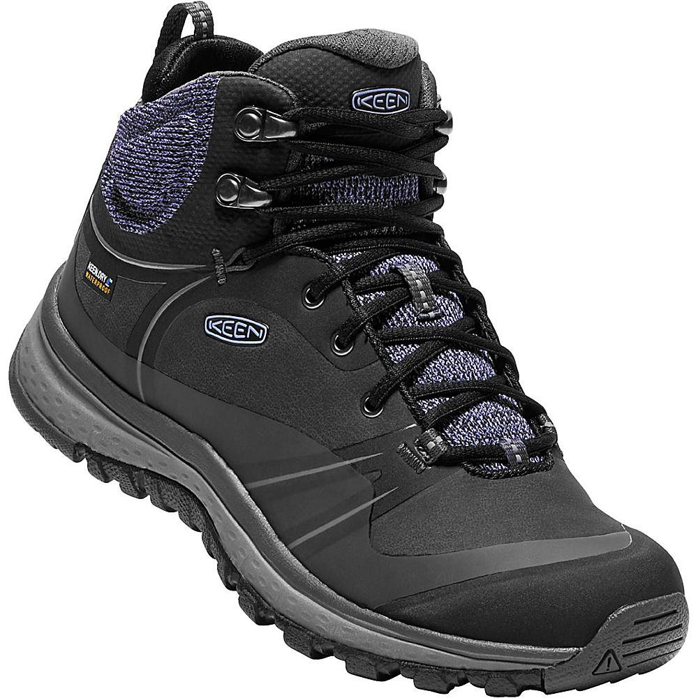 KEEN Womens Terradora Pulse Mid Waterproof Boots 9.5 - Black/Magnet - KEEN Womens Footwear - Apparel & Footwear, Women's Footwear