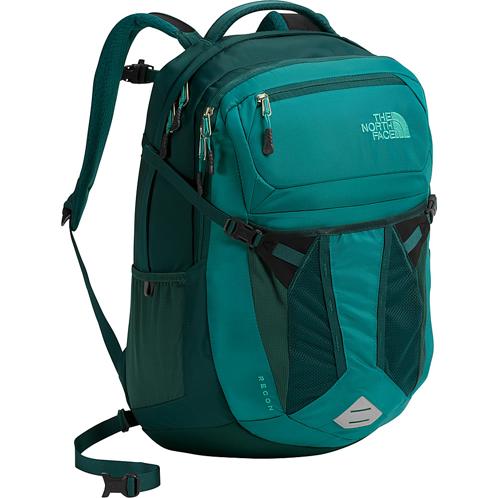 The North Face Womens Recon Laptop Backpack 15- Sale Colors Harbor Blue - The North Face Business & Laptop Backpacks - Backpacks, Business & Laptop Backpacks