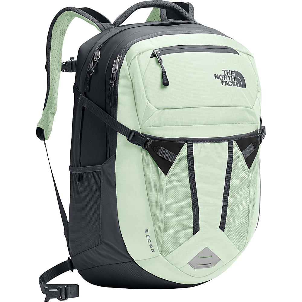 The North Face Womens Recon Laptop Backpack 15- Sale Colors Subtle Green - The North Face Business & Laptop Backpacks - Backpacks, Business & Laptop Backpacks