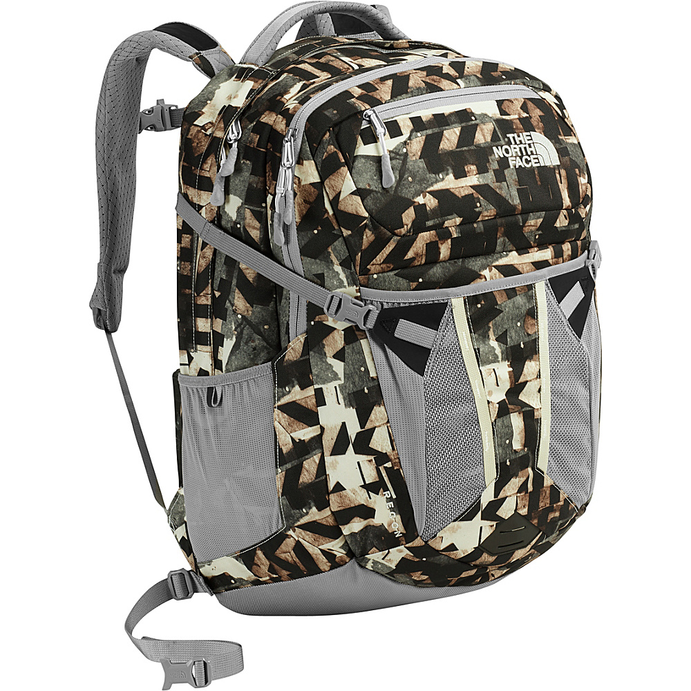 The North Face Womens Recon Laptop Backpack 15- Sale Colors Vintage White Pieces Print - The North Face Business & Laptop Backpacks - Backpacks, Business & Laptop Backpacks
